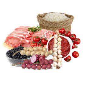 Combo de dieta básica y aseo