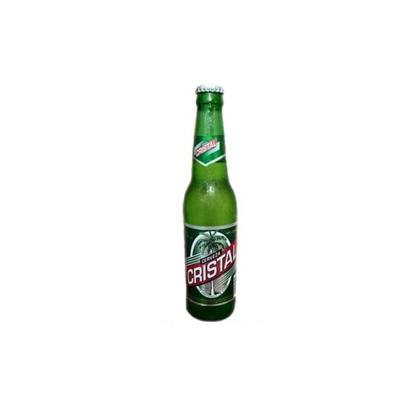 Cerveza en botella.